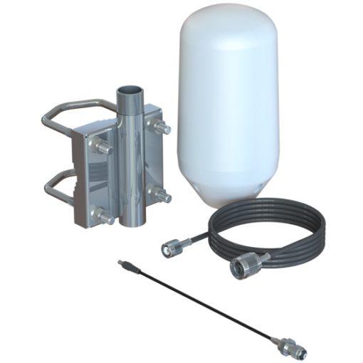 Iridium Passive Antenna Kit with Pole Mount