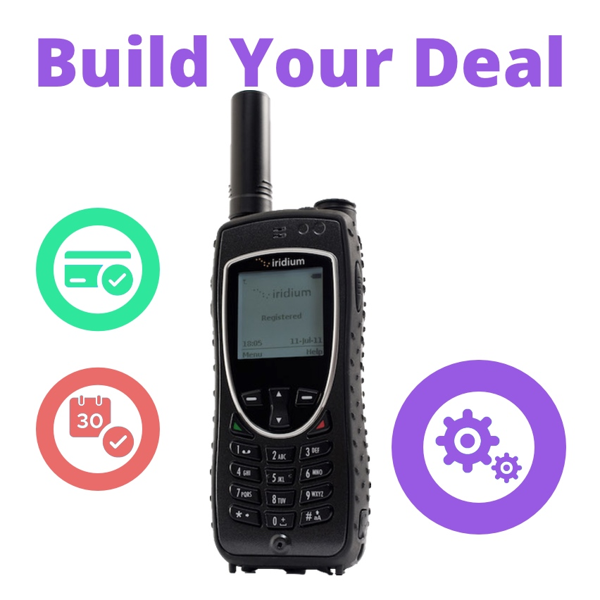 Iridium Extreme – Custom Bundle - 9575 Satellite Phone