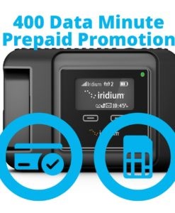 Iridium GO 400 Data Minute Promotion